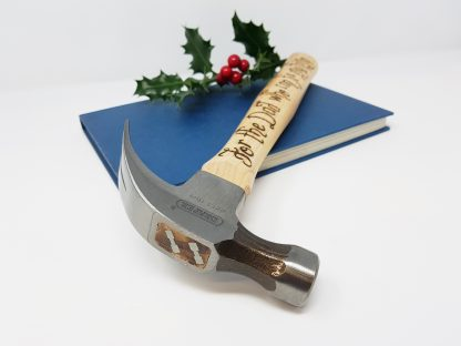 for the dad who can fix anything personalised hammer christmas gift