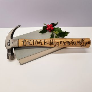 dad i love building memories with you christmas hammer gift
