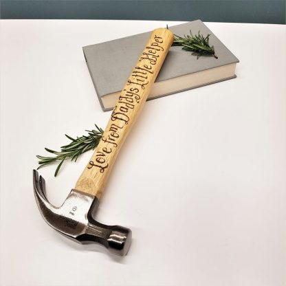 Personalised Hammers, Custom Engraved Hammer, Gift for Dad, Father of the Bride, New Daddy Gift, Unique Gift Ideas, Gifts for Him