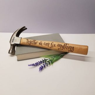 Personalised Hammer, Unusual Gift for Husband, Present for Partner, Boyfriend Gift, DIY Toolkit Present, Custom Engraved Tools for Husband