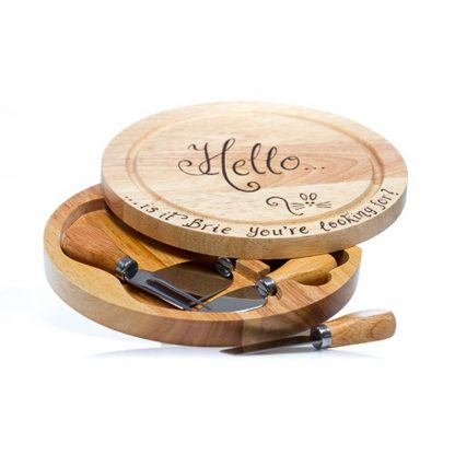 personalised cheeseboard engraved with your own messages