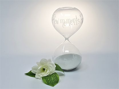 personalised glass sand timer hour glass 15 minutes1