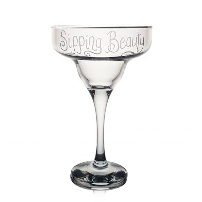 personalised margarita glass sipping beauty#new