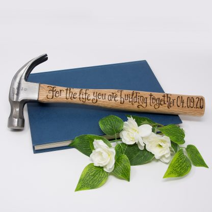 for the life you are building together plus date anniversary hammer sq prop