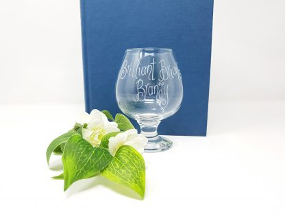 brilliant brian's brandy personalised snifter glass