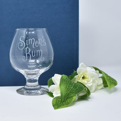 personalised rum glass gift close sq prop