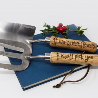 If mums were flowers I would pick you personalised garden tools for mummy xmas