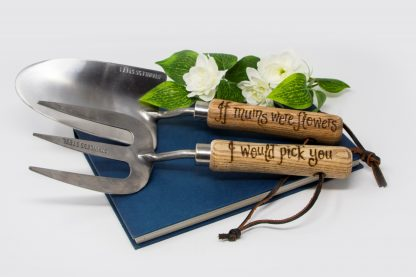 If mums were flowers I would pick you personalised garden tools for mummy prop