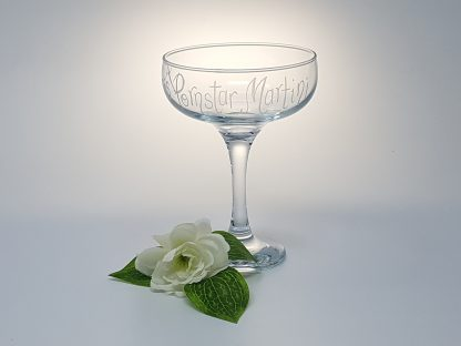 add any name personalised pornstar martini cocktail glass