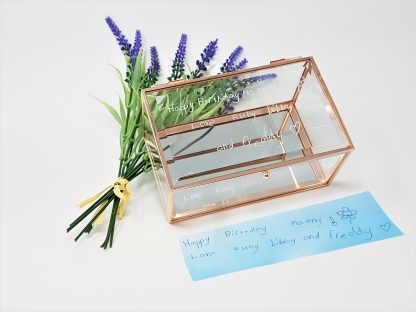 childs handwriting copied and engraved on glass jewellery box gift for nanny3