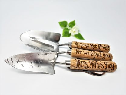 if mums were flowers we would pick you happy mothers day personalised garden tools1