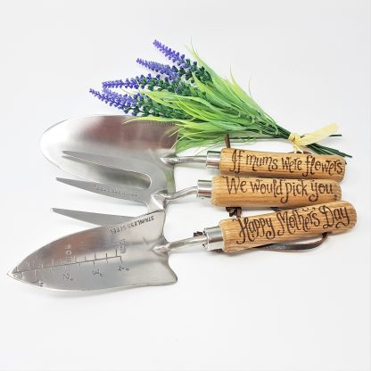 if mums were flowers we would pick you happy mothers day personalised garden tools12
