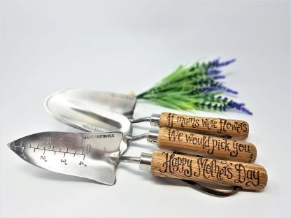 if mums were flowers we would pick you happy mothers day personalised garden tools2