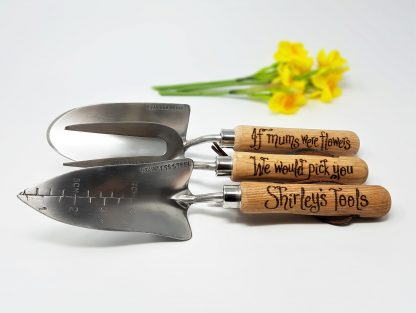 if mums were flowers we would pick you shirleys tools personalised garden tools1