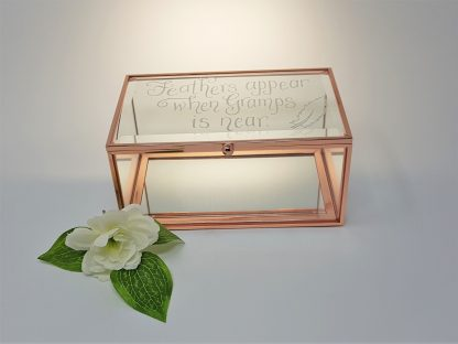 feathers appear when gramps is near personalised trinket box remembering loved one1