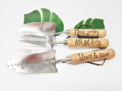 claires garden lets get dirty bloom & grow personalised garden tools